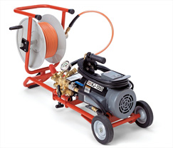 RIDGID KJ-1350 Sewer Jetter with H-10 Cart