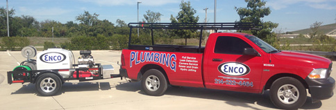 Enco Plumbing's Trailer Pressurewasher from Amazing Machinery